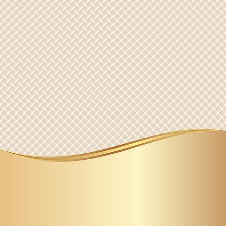 braids: gold and beige background with braid texture