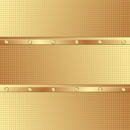 golden background with texture Vector