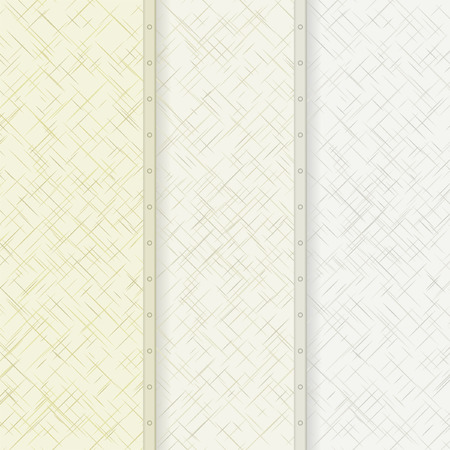 divided: neutral background divided into three parts