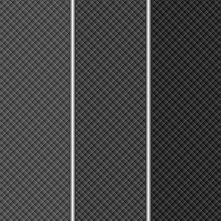 geteilt: dunklen Hintergrund in drei Teile gegliedert