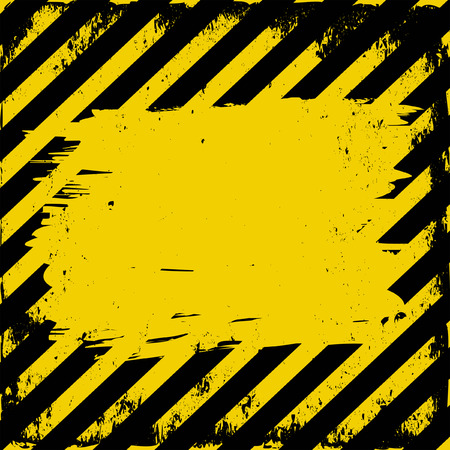 barrier tape: yellow and black grunge background