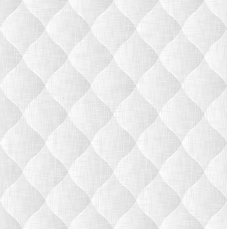 quilted fabric: white and gray bacground or texture