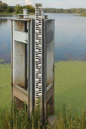 depth measurement: Water level measurement