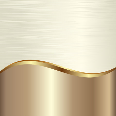 golden textured background Vector