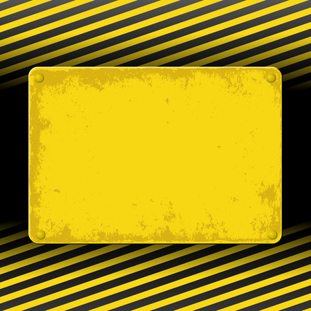 yellow and black grunge background Vector
