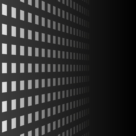 bstract: black background with perspective