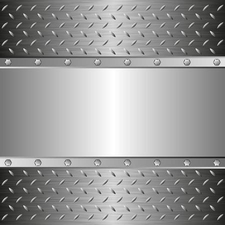 steel background: steel background