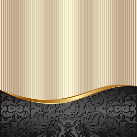 ecru: decorative background with abstract pattern