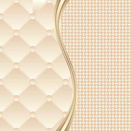 textile background divided into two