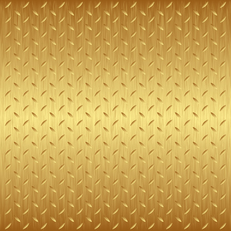 metal sheet: golden background with texture
