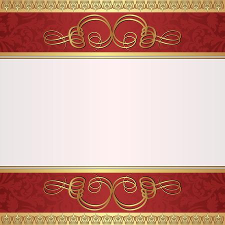 decorative background: decorative background with ornate ornament