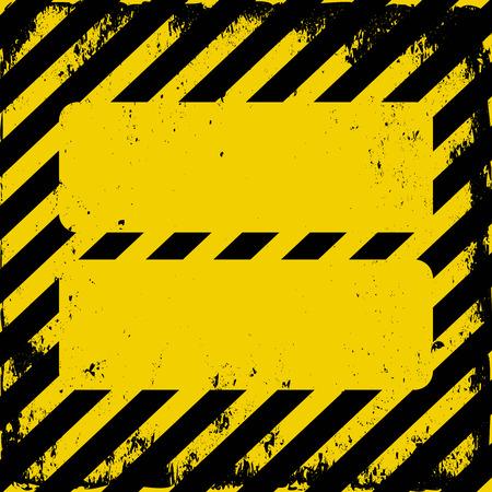 barrier tape: danger area background Illustration
