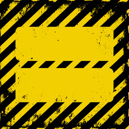 hazard tape: danger area background Illustration