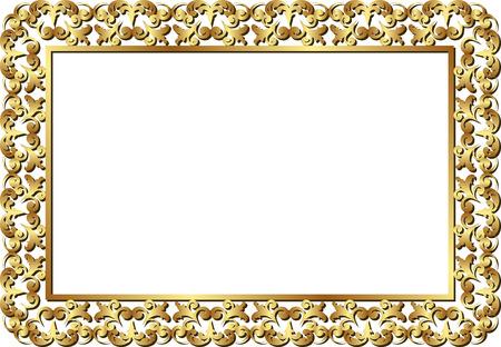 golden frames: isolated golden frame