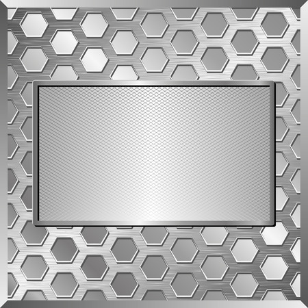 tread plate: iron background with metallic plate