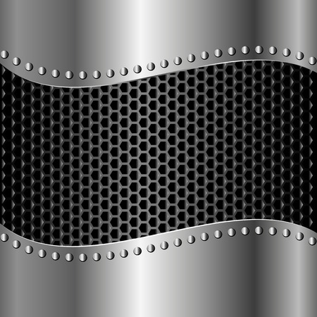 iron background with grate texture