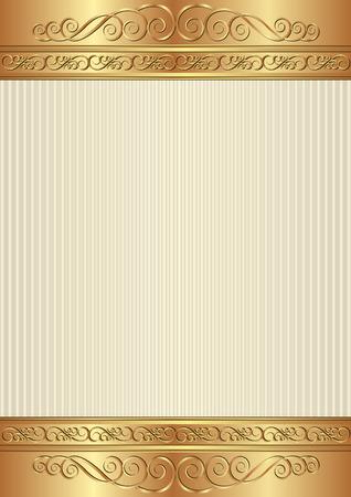 shone: vintage background with decorative border