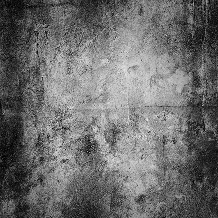 parget: grunge concrete wall background with vignette Stock Photo