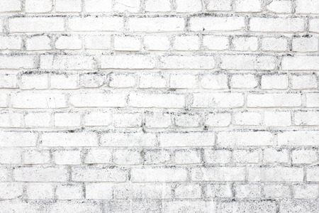 brick and mortar: white brick wall background