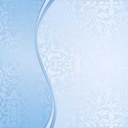 organic background: blue decorative background