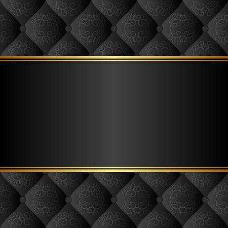 우아한 배경: elegant black background