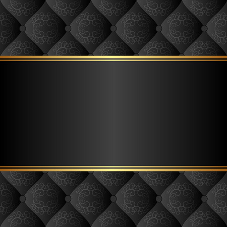 elegant black background