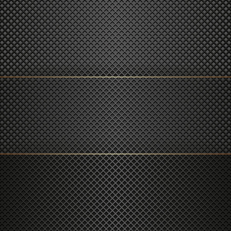 grid black background: black modern  background with grid texture Illustration