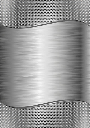 iron background with metallic texture