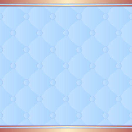 quilted fabric: light blue background with pattern