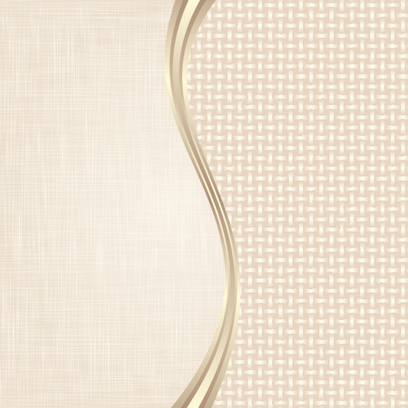 ecru: beige background divided into two