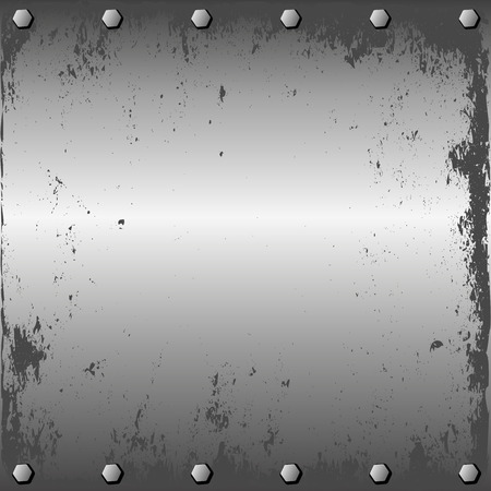 metal sheet: grunge metal sheet with screws