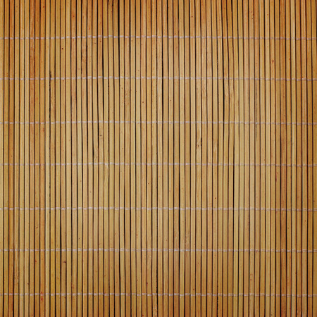 bamboo mat: bamboo mat background with vignette Stock Photo