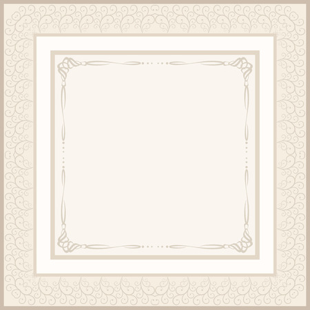 etiquette: vintage background for invitation or etiquette