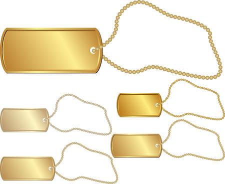 identifying: set of isolated golden identity tag