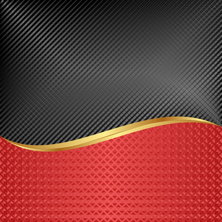 the divided: black and red background divided into two