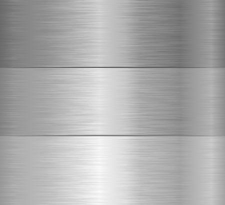 텍스처가있는 3 개의 스틸 배너 일러스트