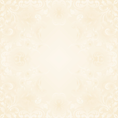 neutral: neutral background with vintage ornaments Illustration