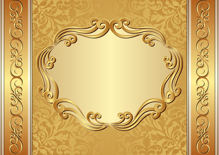 ornate background: ornate background Illustration