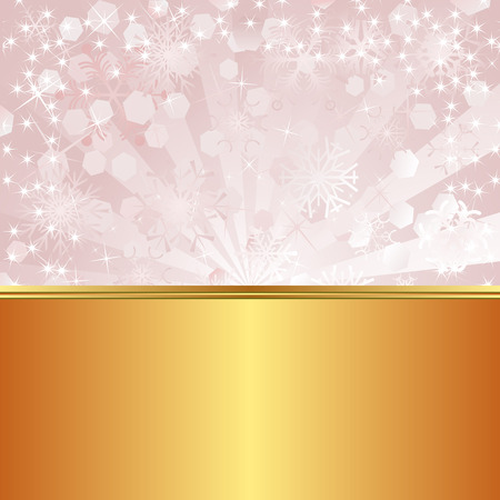 abstract pink: golden and pink abstract background