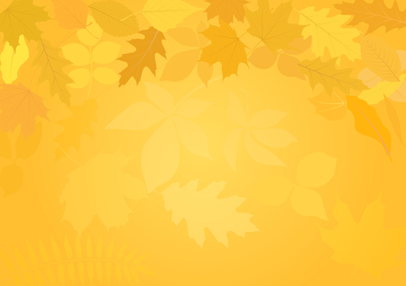 background with autumn leaves