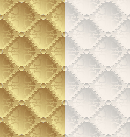 creamy: golden and creamy background with ornaments
