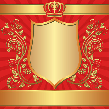 royal background: royal background with ornaments