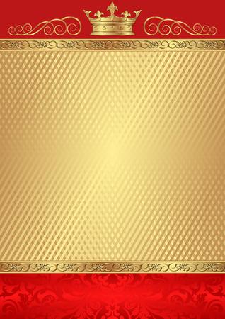 gold background: royal background