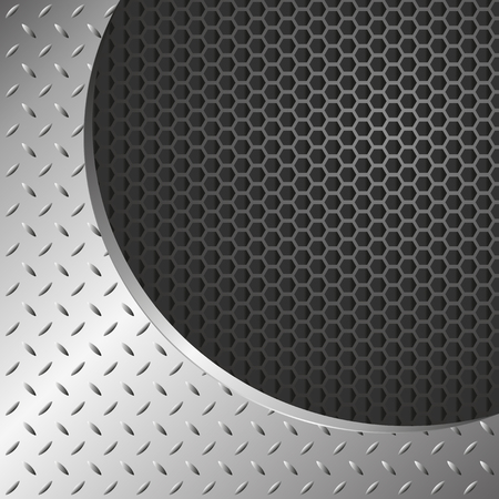 metal pattern: metal background with grate texture