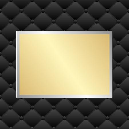 placa bacteriana: la placa de oro en modelo negro