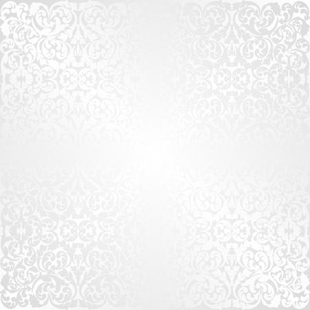 vintage background pattern: white background with vintage pattern