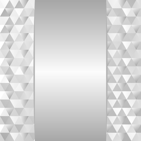triangles: silver background with texture Illustration