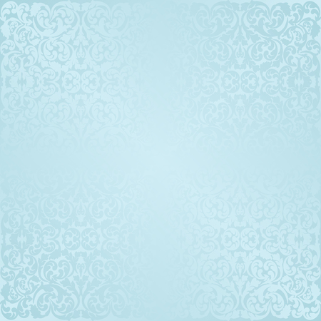 blue background with antique pattern