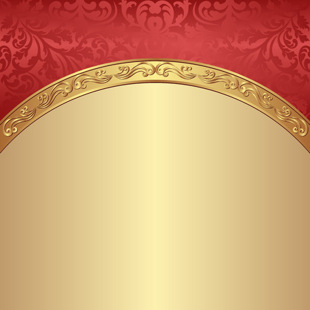 antique background: antique background with ornaments