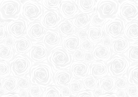 abstract rose: white background with rose pattern